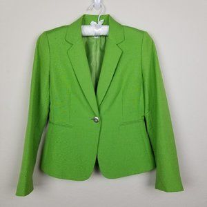 Lime Green Tahari Blazer
